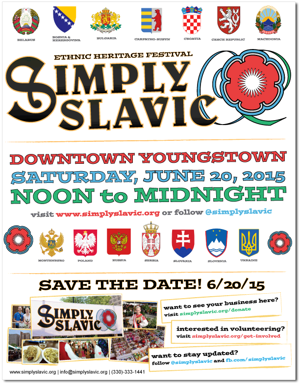 Simply Slavic 2015 Flyer