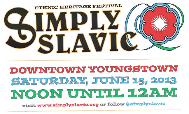 Simply Slavic 2013 Poster